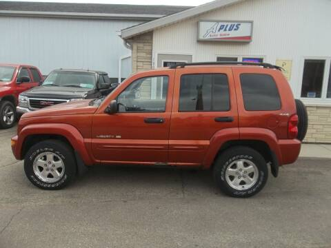 2002 Jeep Liberty for sale at A Plus Auto Sales/ - A Plus Auto Sales in Sioux Falls SD