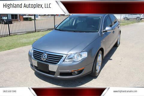 2007 Volkswagen Passat for sale at Highland Autoplex, LLC in Dallas TX