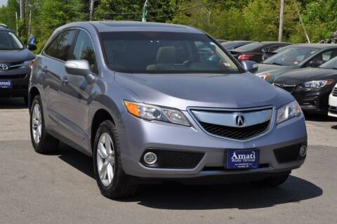 2013 Acura RDX for sale at Amati Auto Group in Hooksett NH