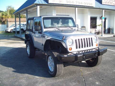2013 Jeep Wrangler for sale at LONGSTREET AUTO in St Augustine FL
