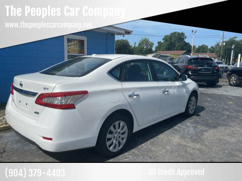 2013 Nissan Sentra for sale at The Peoples Car Company in Jacksonville FL