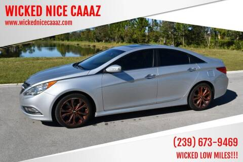 2014 Hyundai Sonata for sale at WICKED NICE CAAAZ in Cape Coral FL