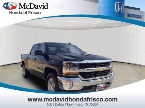 2017 Chevrolet Silverado 1500 for sale at DAVID McDAVID HONDA OF IRVING in Irving TX