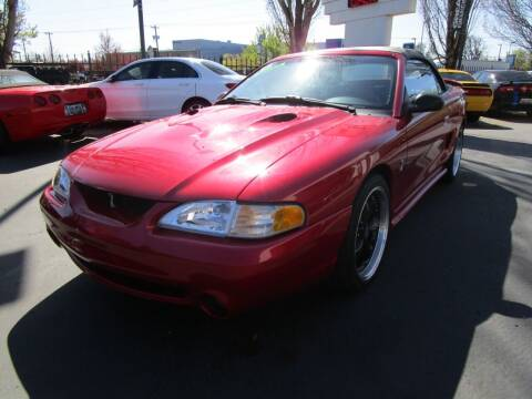1998 Ford Mustang SVT Cobra for sale at LULAY'S CAR CONNECTION in Salem OR