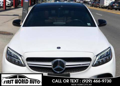 2019 Mercedes-Benz C-Class for sale at First World Auto in Jamaica NY