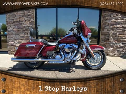 2010 Harley Davidson FLHR Road King for sale at 1 Stop Harleys in Peoria AZ