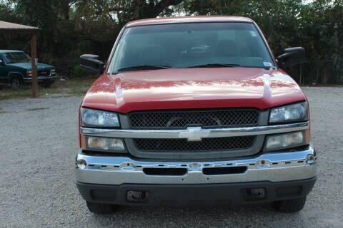 2003 Chevrolet Silverado 1500 for sale at Bailey & Sons Motor Co in Lyndon KS