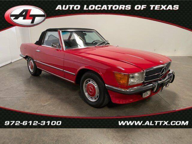 1973 Mercedes-Benz 450-Class for sale at AUTO LOCATORS OF TEXAS in Plano TX
