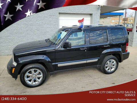 2009 Jeep Liberty for sale at Motor City Direct Auto Sales & Service in Pontiac MI
