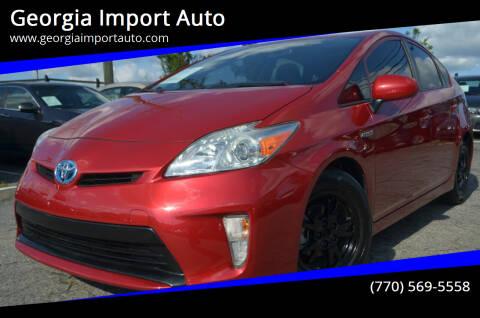 2014 Toyota Prius for sale at Georgia Import Auto in Alpharetta GA