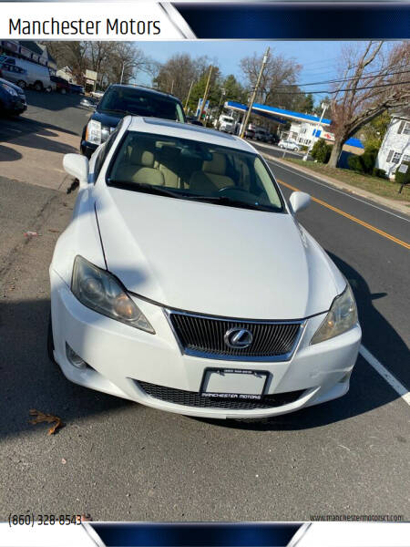 2007 Lexus IS 250 for sale at Manchester Motors in Manchester CT
