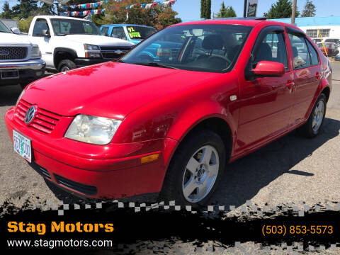 2000 Volkswagen Jetta for sale at Stag Motors in Portland OR