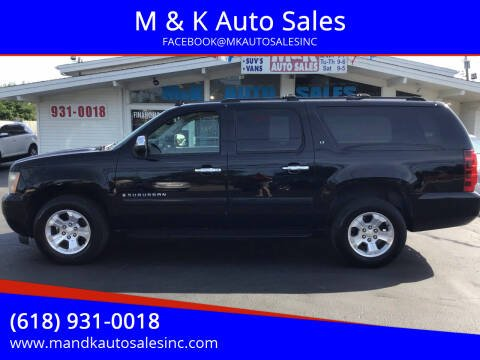 2007 Chevrolet Suburban for sale at M & K Auto Sales in Granite City IL