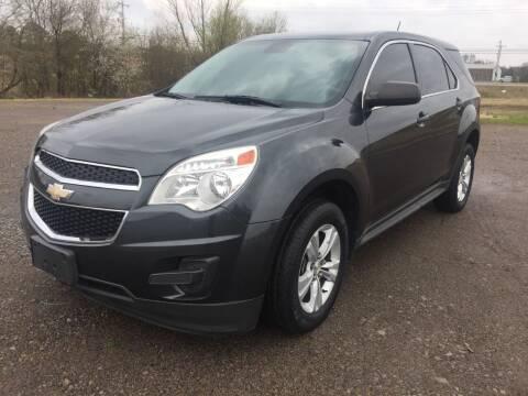 2013 Chevrolet Equinox for sale at McAllister's Auto Sales LLC in Van Buren AR