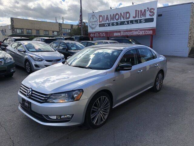 2015 Volkswagen Passat for sale at Diamond Jim's West Allis in West Allis WI