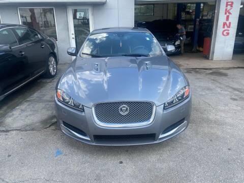 2013 Jaguar XF for sale at America Auto Wholesale Inc in Miami FL