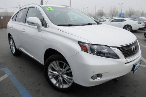 2012 Lexus RX 450h for sale at Choice Auto & Truck in Sacramento CA