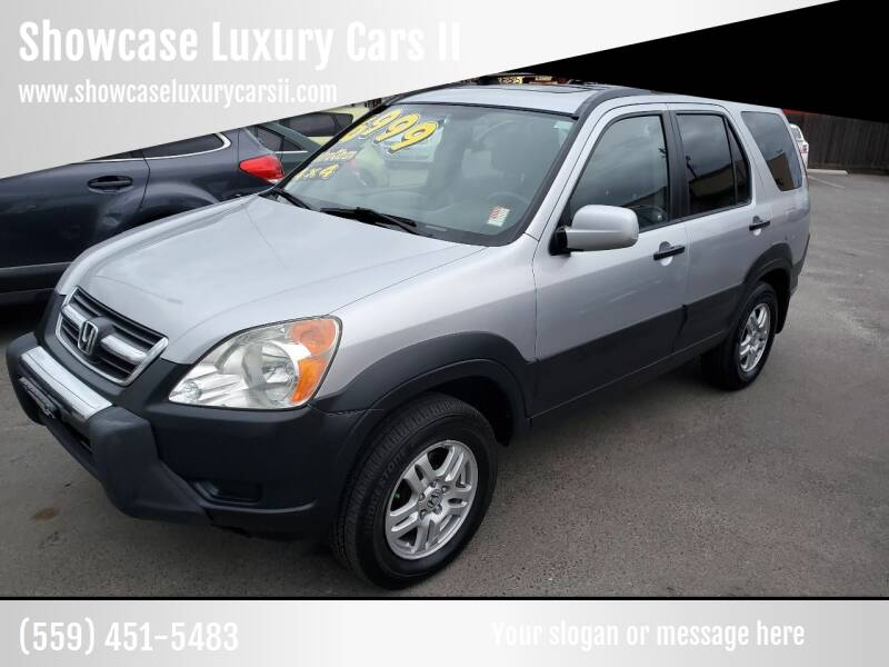 2003 Honda CR-V for sale at Showcase Luxury Cars II in Pinedale CA