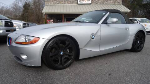 2003 BMW Z4 for sale at Driven Pre-Owned in Lenoir NC