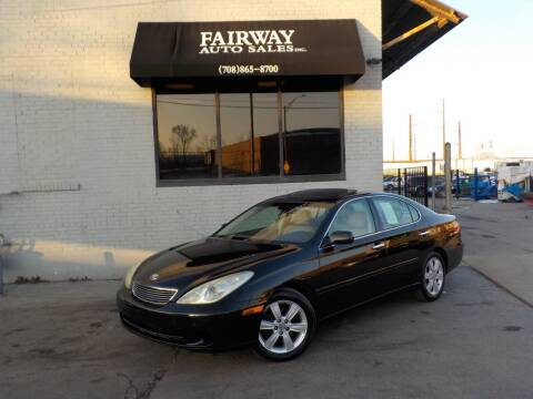 2005 Lexus ES 330 for sale at FAIRWAY AUTO SALES, INC. in Melrose Park IL