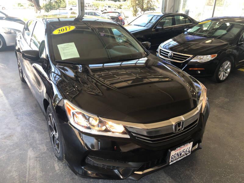 2017 Honda Accord for sale at Sac River Auto in Davis CA