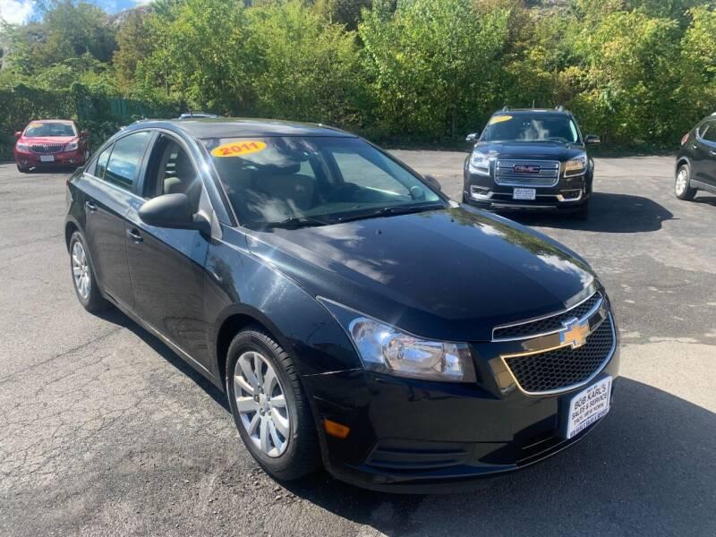 2011 Chevrolet Cruze for sale at Bob Karl's Sales & Service in Troy NY