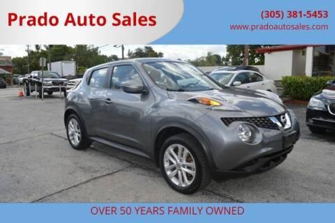 2015 Nissan JUKE for sale at Prado Auto Sales in Miami FL