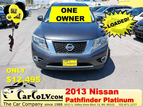 2013 Nissan Pathfinder for sale at The Car Company in Las Vegas NV