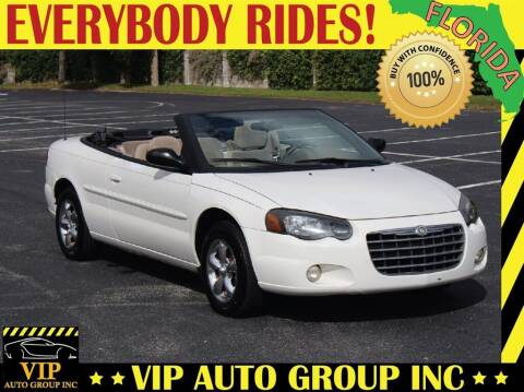 2004 Chrysler Sebring for sale at VIP Auto Group in Clearwater FL