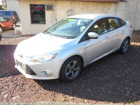 2014 Ford Focus for sale at MARANO MOTORS INC in Sewaren NJ