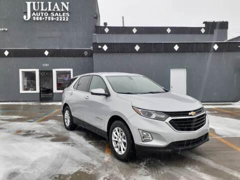 2018 Chevrolet Equinox for sale at Julian Auto Sales, Inc. in Warren MI