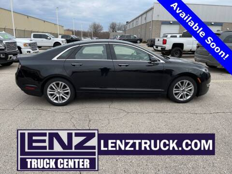 2016 Lincoln MKZ Hybrid for sale at LENZ TRUCK CENTER in Fond Du Lac WI