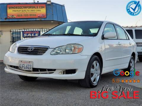 2007 Toyota Corolla for sale at Gold Coast Motors in Lemon Grove CA