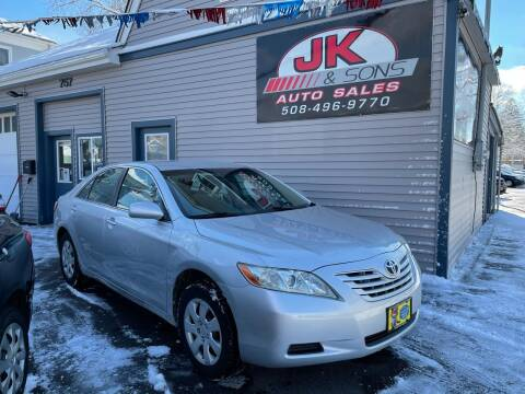 2008 Toyota Camry for sale at JK & Sons Auto Sales in Westport MA