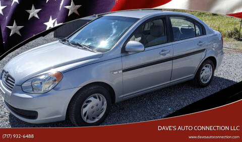2007 Hyundai Accent for sale at Dave's Auto Connection LLC in Etters PA