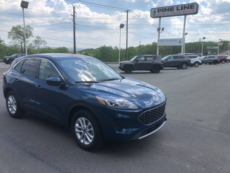 2020 Ford Escape for sale at Pine Line Auto in Eynon PA