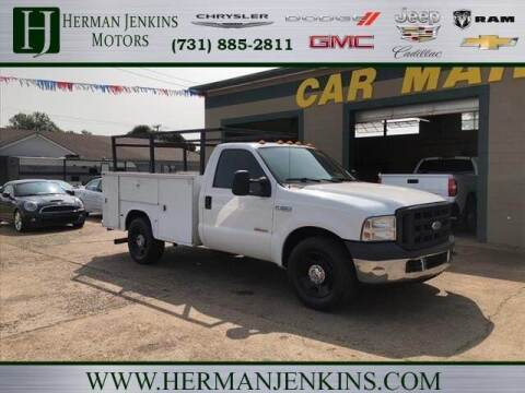 2007 Ford F-350 Super Duty for sale at Herman Jenkins Used Cars in Union City TN