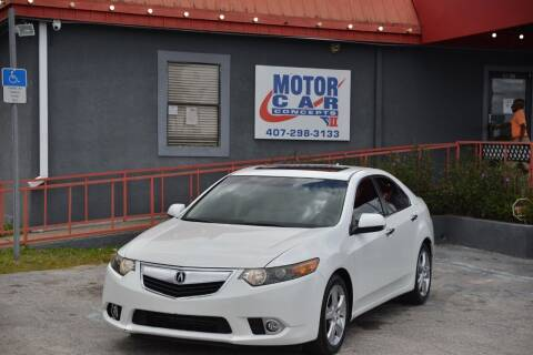 2012 Acura TSX for sale at Motor Car Concepts II - Kirkman Location in Orlando FL