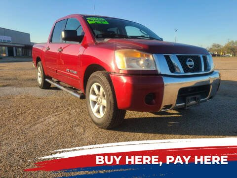 2008 Nissan Titan for sale at Auto District in Baytown TX