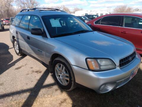 2004 Subaru Outback for sale at L & J Motors in Mandan ND