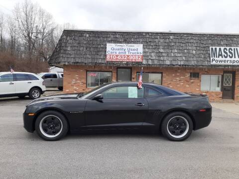 2013 Chevrolet Camaro for sale at Kenny's Korner in Hartland MI