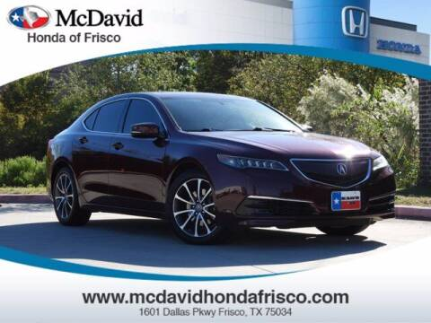 2015 Acura TLX for sale at DAVID McDAVID HONDA OF IRVING in Irving TX