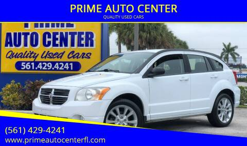 2011 Dodge Caliber for sale at PRIME AUTO CENTER in Palm Springs FL