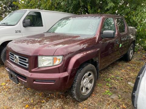 2007 Honda Ridgeline for sale at Philadelphia Public Auto Auction in Philadelphia PA