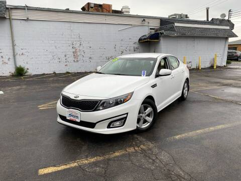 2015 Kia Optima for sale at Santa Motors Inc in Rochester NY