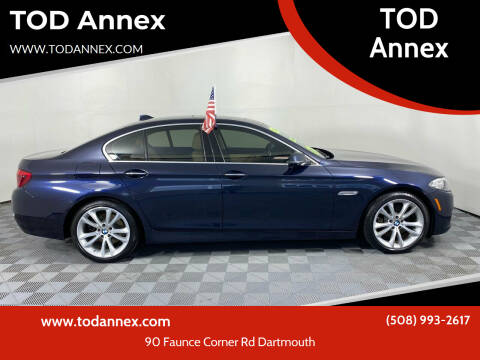 2016 BMW 5 Series for sale at TOD Annex in North Dartmouth MA