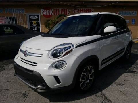 2014 FIAT 500L for sale at VALDO AUTO SALES in Miami FL