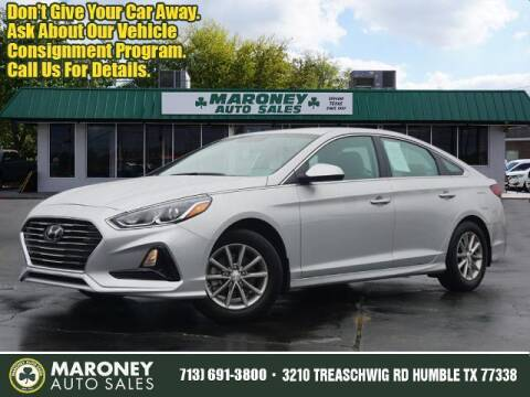 2019 Hyundai Sonata for sale at Maroney Auto Sales in Humble TX