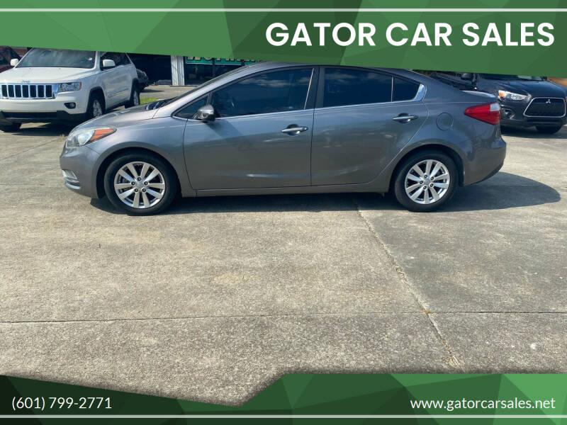 2015 Kia Forte for sale at Gator Car Sales in Picayune MS