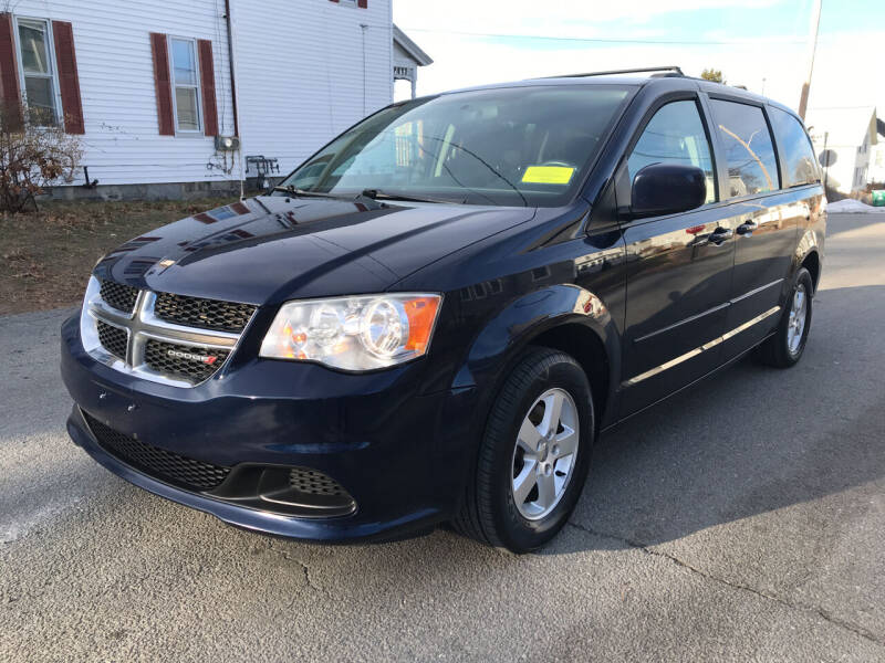 2012 Dodge Grand Caravan for sale at D'Ambroise Auto Sales in Lowell MA